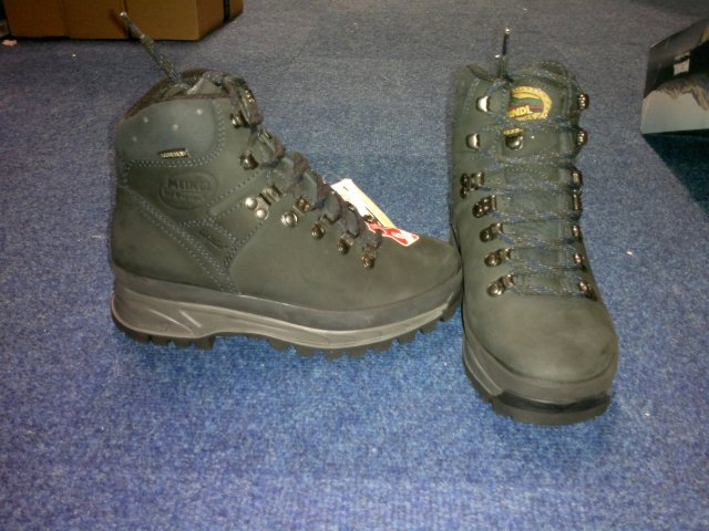 THE boots: Meindl Burma Pro